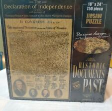 American Documents The Declaration of Independence Jigsaw Puzzle 750 Piece PZ1