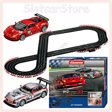 Carrera Digital 132 30161 GT Power 6,9m Mercedes GT3 Ferrari GT2 Auto Renn Bahn