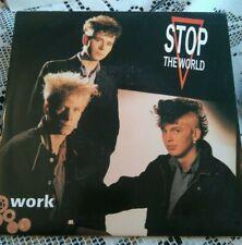 "STOP THE WORLD - 7"" Vinyl - Work / Walk Along The City Carpet - 1984 - Juice"