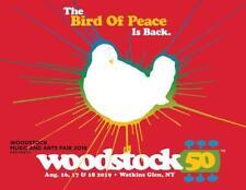 Woodstock 2019 Watkins Glen New York August 16-18 8 x 10 Glossy Poster Print 50