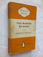ALBERTO MORAVIA  THE WOMAN OF ROME  1ST SB 1952 PENGUIN 880 MUSSOLINI'S ROME