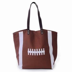 Football Tote Bag Purse