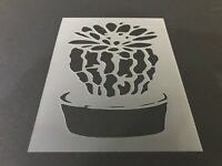 Cactus #9 Stencil 10mm or 7mm Thick Cacti Desert Succulent Crafts