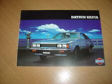 CATALOGUE Datsun Silvia de 1981