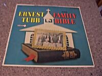"Ernest Tubb ""Family Bible"" DECCA LP DL 74397"