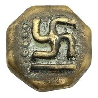 Authentic Antique African Asante Bronze Gold Weight Ghana Tribal Artifact Old A
