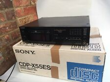 BOXED VINTAGE Sony CDP-X55ES CD Player Sony build quality Great sound VGC