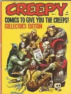 CREEPY # 1 (Warren Publishing, 1964) Classic Jack Davis Cover!  Frazetta art!