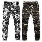 Men's Camouflage Camo Exquisite Pants Boy Joggers Sport Sweatpants Trousers