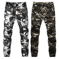 EP_ Men's Camouflage Camo Exquisite Pants Boy Joggers Sport Sweatpants Trousers