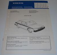 Einbauanleitung Volvo 340 Dekorstreifen / Dekorstripes / Decorative Strips 1980