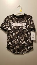 NEW BOY'S FORTNITE GROUP EPIC GAMES T SHIRT SIZE M 8 MAD ENGINE LLC SPAWN WEAPON