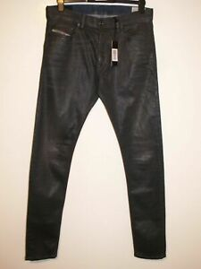 Diesel Tepphar coated leather style jeans wash 084BF stretch W32