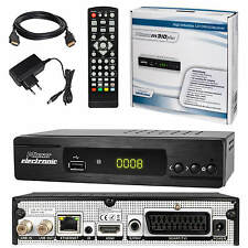 FULL HD TV DVB-S2 Micro M310plus Sat Receiver USB LAN 12V Easy Find + HDMI Kabel