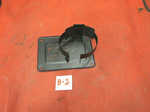 MG Midget, Sprite, Brake & Clutch Pedal Box Metal Cover  & Canister Mount, !!