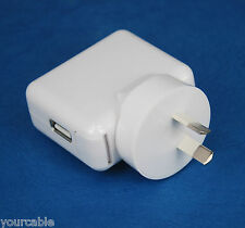 12W USB AC Adapter Wall Charger WHITE for iPad Pro Air mini 4 iPhone 7 6s 6 Plus