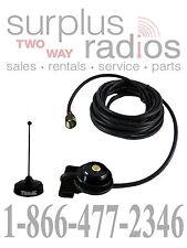 Black Tram Trunk Mount UHF Antenna Kit Motorola M1225 CM300 CM200 CDM750 CDM1550