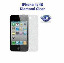 Brand New Diamond Sparkling Glitter Screen Protector for Apple iPhone 4 / 4S