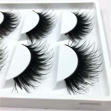5 Pairs Soft Long Eye Lash Extension Handmade Fake False Eyelashes Makeup Tool