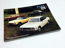 1972 Fiat 124 Sport Coupe Sport Spider Station Wagon Special Brochure