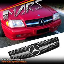 Black R231 GRILL for Mercedes-Benz W129 R129 500 SL SL280 SL500 SL320 SL600