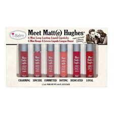 theBalm Meet Matte Hughes Set of 6 Mini Long Lasting Liquid Lipsticks Vol. 1