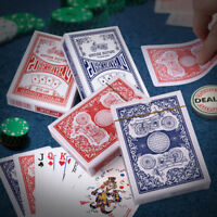 12 Decks of Playing Cards Poker Size Standard for Blackjack Euchre 6 red 6 blue