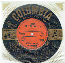"GERRY AND THE PACEMAKERS - HOW DO YOU DO IT? - 7"" 45 VINYL RECORD - 1963"
