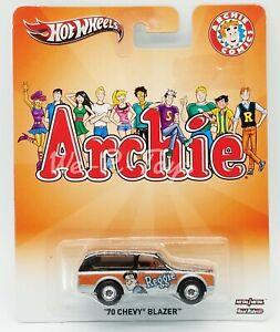 Hot Wheels Archie Comics Reggie '70 Chevy Blazer Metal/metal Real Riders #X8308