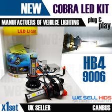 HB4 9006 cobra COB CREE ALTA POTENCIA niebla blanca 3000LM 2LED 30w libre de errores