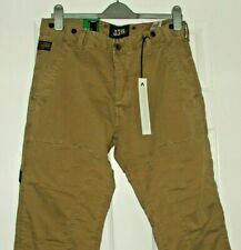 """BNWT G-STAR RAW 3301 STATE CHINO LOOSE COLOUR NOMAD W33"""" L32"""""""