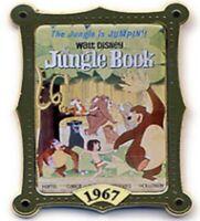 Disney Pin 11459 12 Months of Magic Movie Poster Jungle Book 1967 Mowgli Baloo