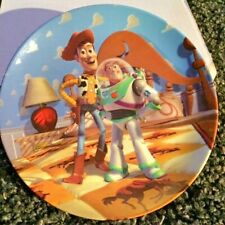 """Toy Story Collection """"Friends At Last"""" 1st Issue Bradford Exchange 8"""" Plate 1996"""