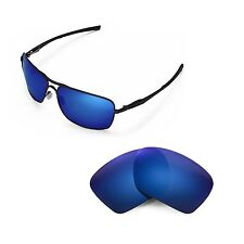 New Walleva Polarized Ice Blue Replacement Lenses For Oakley Plaintiff Squared