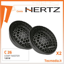 HERTZ Coppia di Tweeter C26 Cento 120Watt per Auto