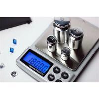 Hochpräzise Mini-Digitalwaagen mit kleinen Taschen und Goldwaagen 500 g x 0,01 g
