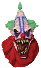 Halloween Costume BIG TOP MASTER OF THE CLOWNS LATEX DELUXE MASK Haunted House