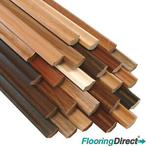 Laminate Flooring Scotia Beading 1.15m x10 Lengths Edging Trim MDF LIMITED STOCK