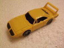 tyco mattel slot car Plymouth Superbird - Metallic yellow 440X2 chassis!!
