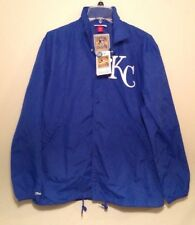 e744e2c5287 NWT Mitchell   Ness Cooperstown Collection Kansas City Royals Large Nylon  Jacket