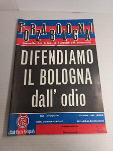 forza bologna calcio anno 1 numero 4 1964 football