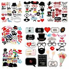 Photo Booth Props Mask On A Stick Mustache Wedding Party Birthday Decoration DIY