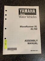 Yamaha Waverunner XL XL700 Assembly Manual
