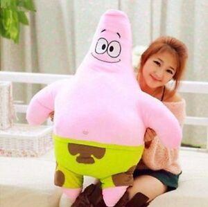 100cm Patrick Star SpongeBob SquarePants Pink Starfish Soft Plush Doll Kids Toy