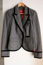 ESPRIT Grey Preppy Academy Suit Jacket Blazer Uniform Costume sz Medium (M) NWT
