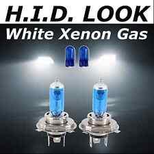 H4  501 60/ 55w White Xenon HID Look Headlight Dip Main Beam Bulbs E Marked