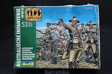 XP068 REVELL 1/72 maquette figurine 2501 Infanterie australienne WWII