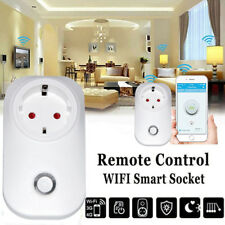 Smart WiFi Remote Control Timer Switch Power Socket Outlet phone EU/US/UK Plug