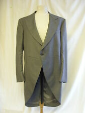 "Mens Morning Suit - H. H. Cox, 43"" Reg., grey mix, waistcoats, 42""W, 30.5L 1780"