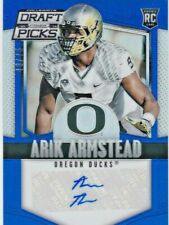 Arik Armstead Oregon Ducks 49ers 2015 Panini Prizm Draft Picks Blue AUTO RC /75